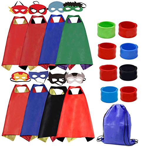 Cartoon Dress up Costumes Kids 8 Characters Satin Supehero for sale  Delivered anywhere in Canada