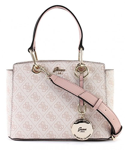 GUESS Jacqui Small Satchel Rose