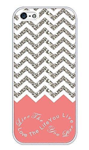 chevron-pattern-grey-white-live-the-life-you-love-love-the-life-you-live-apple-iphone-5-case-iphone-