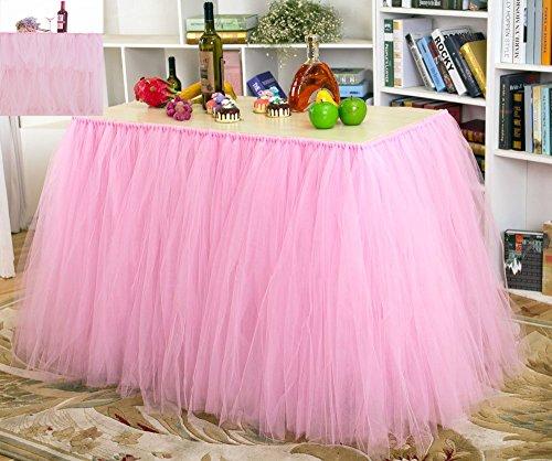 IRISH Tutu Tulle Skirt Table Skirt Chiffon, Tablecloth - Tableware