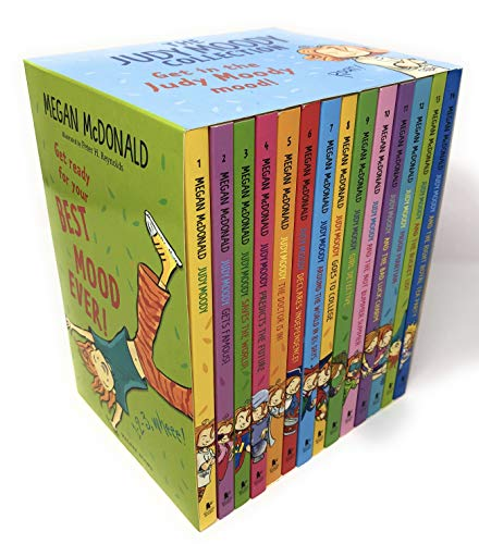 The Judy Moody Best Mood Ever MEGA 14 Books Collection Set (Best Party In The World Ever)