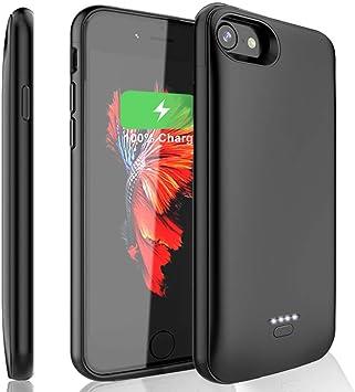 Atokit – Funda de batería para iPhone 6 6S 7 8, 6000 mAh, batería ...
