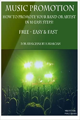 Music Promotion - How to promote your Band or Artist in 10 Easy