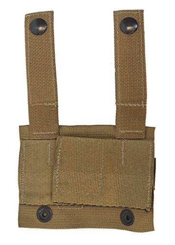USMC MOLLE KA-Bar Adapter Coyote Pack Of 5 (Molle Adapter)
