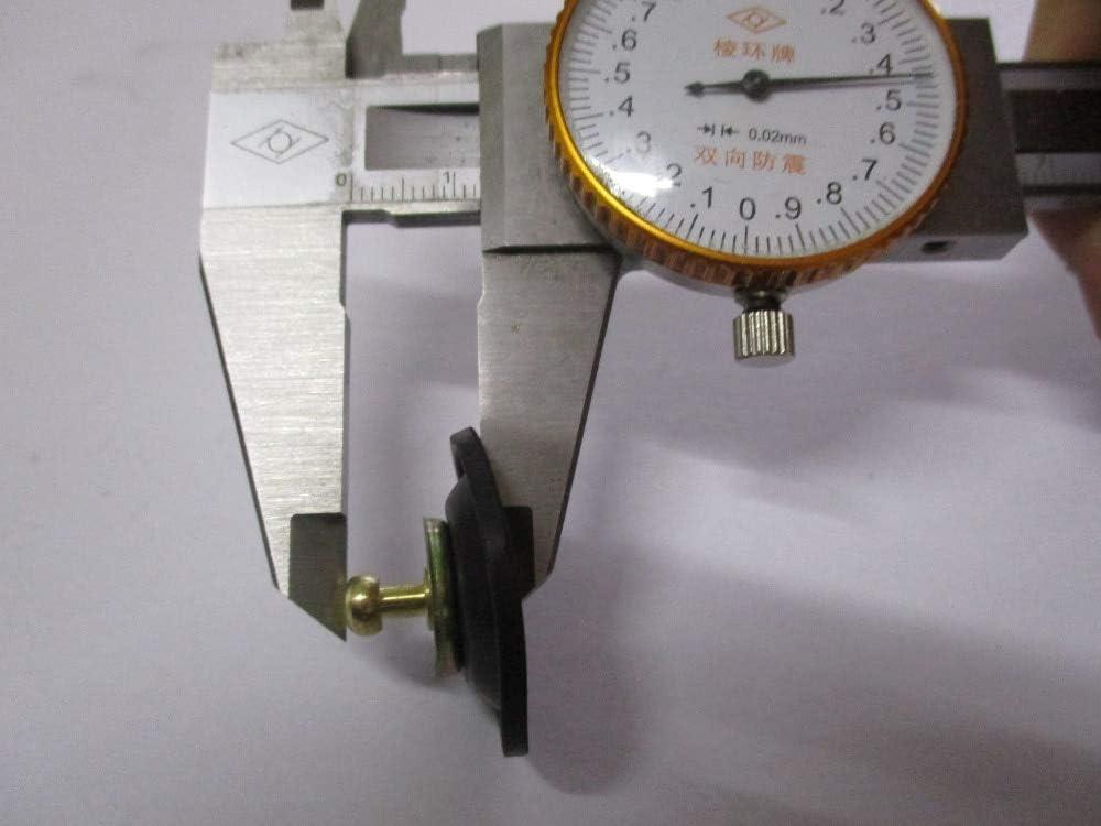 CB750 Juego de diafragma de v/álvula de corte de aire del carburador 1979 CB650 XR XL CB CX GL CRF CX CB CM 250-500 membrana//diafragma de v/álvula