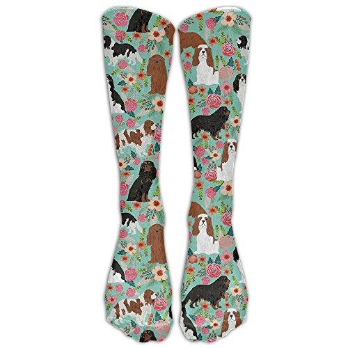 SweetieP Cavalier King Charles Spaniel Youth Boys Girls Crew Socks Thin Socks Casual Socks For Daily Life Cosplay,One Size