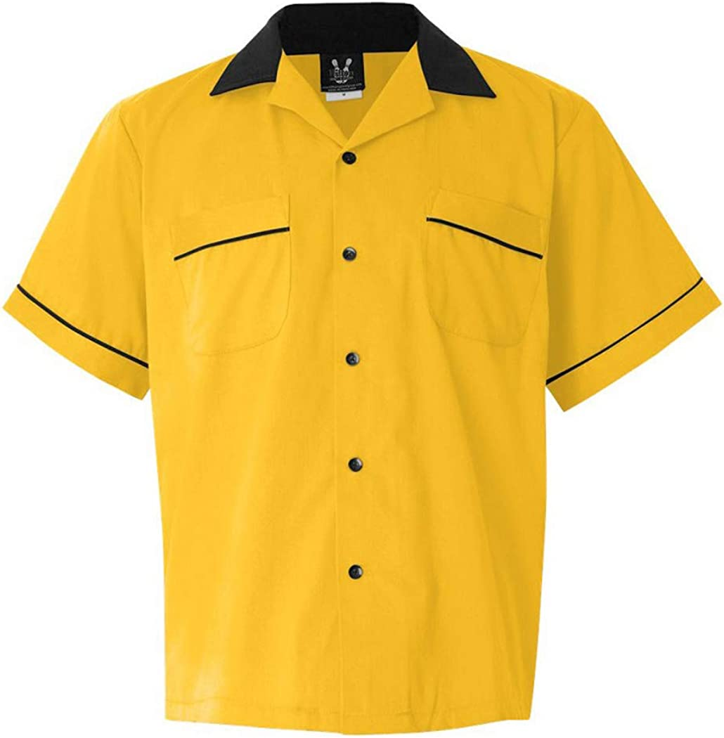 Button Up Legend 2244 Bowling Shirt with Sister Strikers w//Pin Splash B