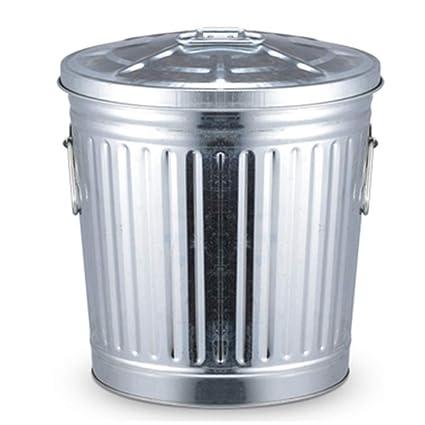 Amazon Com Jiahe115 Hjca Trash Can Large Galvanized Metal