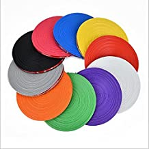 "10 Colors Choice For 1""~22"" Car Bike Motor Van Alloy Wheel Hub Rim Edge Protector Ring Tire Guard Sticker Rubber Strip Backed Self Adhesive (Purple)"