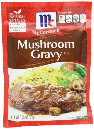 McCormick Mushroom Gravy 0 75 Case