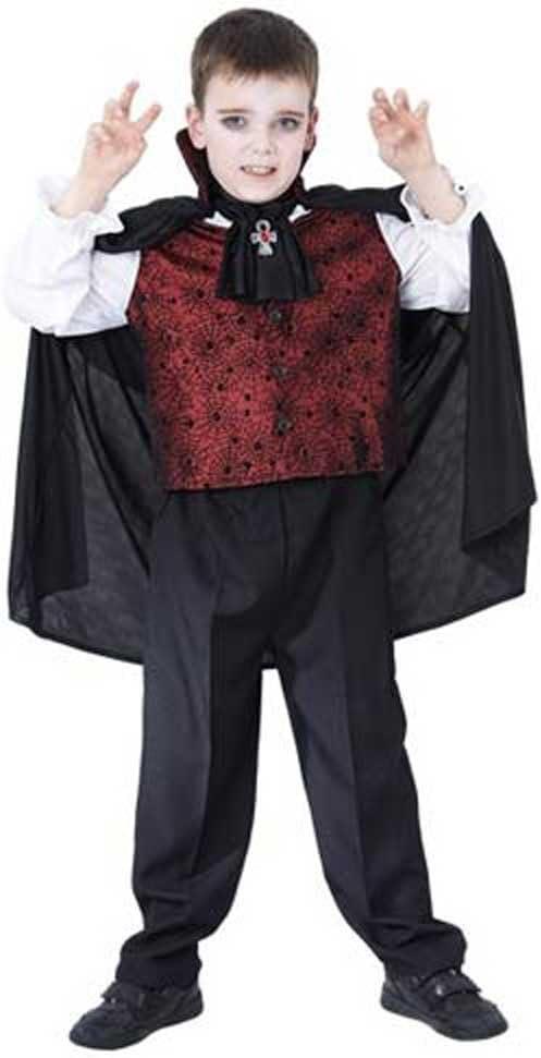 Disfraz Vampiro Niño - Talla 7 - 9 años: Amazon.es: Juguetes y juegos
