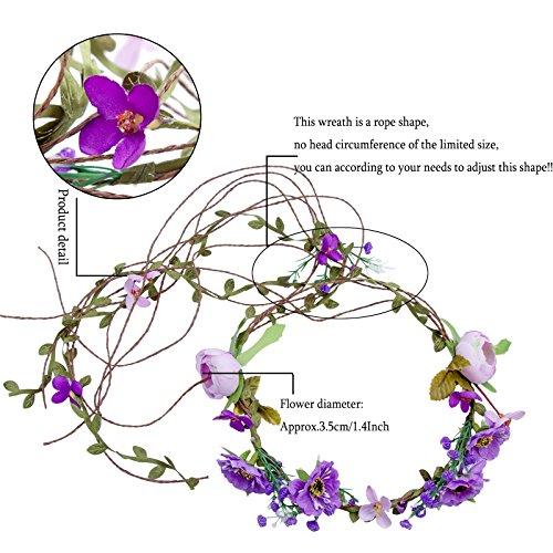 The 8 best wedding flower garland for hair