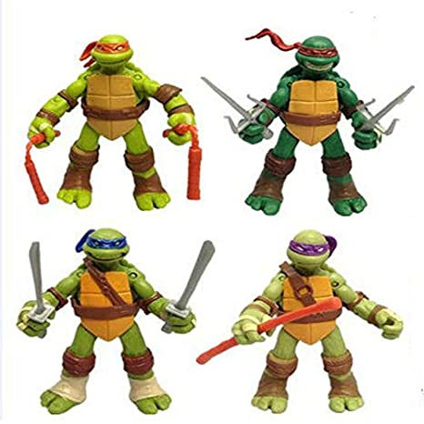 JXMODEL Toy The Teenage Mutant Ninja Turtles Figuras De ...