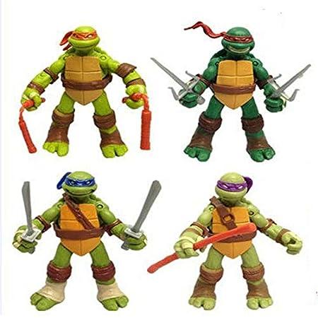 Figura de Anime Las Tortugas Ninja Leonardo Rafael Miguel ...