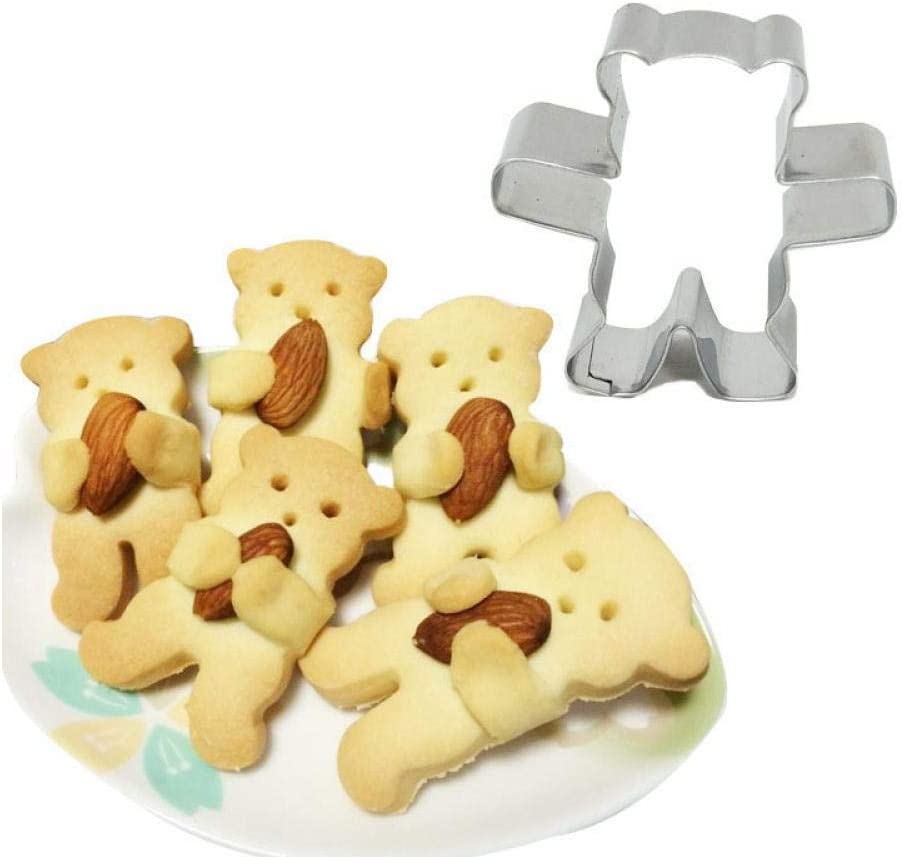 Owl shaped stainless steel cutter biscuit cookie mold baking decor tool UK