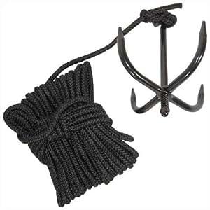 Amazon.com: Black Hornet Folding Grappling Hook! 2nd Floor ...