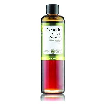 Fushi Carrot Organic Oil 100ml Extra Virgin, Biodynamic Harvested Cold  Pressed