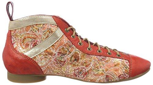 Think Guad_282288, Stivali Desert Boots Donna Rosso (Chilli/Kombi 76)