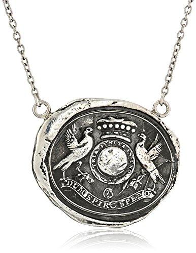 """Pyrrha """"talisman"""" Sterling Sil"""
