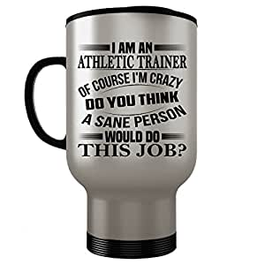 Athletic Trainer Travel Mug - Athletic Trainer Gifts - Stainless Steel Travel Mug, Coffee Cup #02