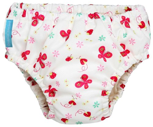 Charlie Banana Cloth Swim Diapers Butterfly (Medium)