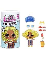 L.O.L. Surprise! 572657EUC Hairgoals Serie 2 Docka med 15 Överraskningar
