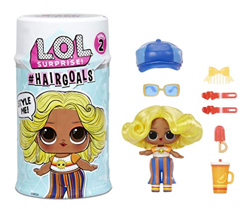🥇 LOL Surprise #Hairgoals Series 2 Doll with Real Hair and 15 Surprises