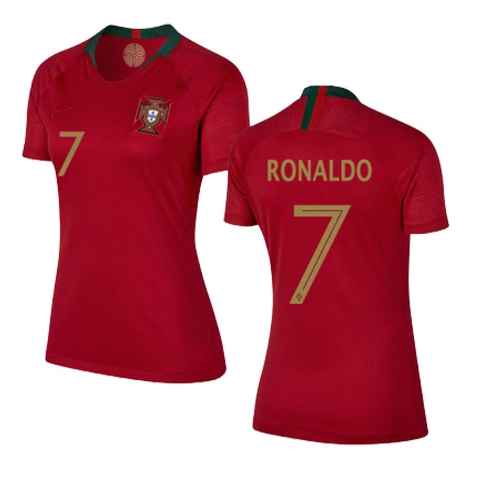 new products 49b0c 52f29 Amazon.com : Portugal Ronaldo World Cup 2018 18 Women ...