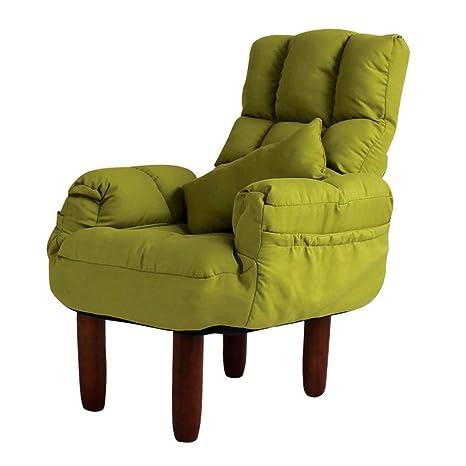 Amazon.com: Axdwfd Silla de salón, Lazy Couch de tela única ...