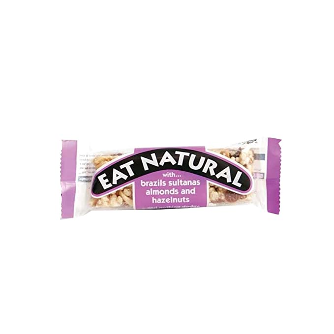 Eat Natural | Brazil, Sultana, Almond, Hazel | 12 x 50G