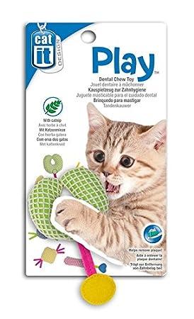 jouet chat mordre