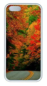 Apple iPhone 5S Cases - Start Of Autumn TPU Case Cover for iPhone 5S and iPhone 5 - White