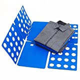 Blue T-Shirt Clothes Folder Large Magic Fast Laundry Organizer Folding Board Adult