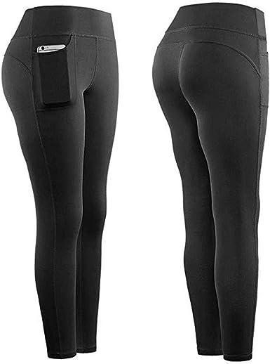 Womens Yoga Pants Elegant Design Element High Waist Yoga Leggings with Pockets