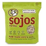 Sojos Pre-Mix Natural Grain Free Dry Raw Freeze Dried Dog Food, 8-Pound Bag