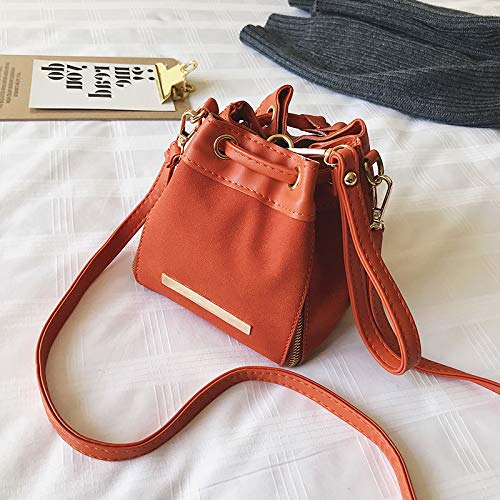 ManeraRosado Femenino Orange Las Simple Yukun Bolso Manera