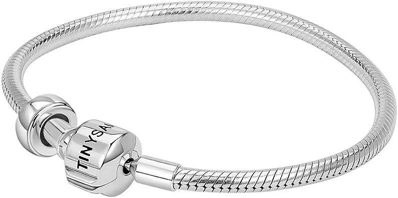 bracelet femme charms argent