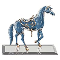 Glass Baron ~ Horse with 22kt. gold accents