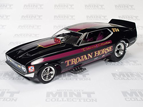 1972 Ford Mustang Trojan Horse NHRA Funny Car Model 1:18th Scale Autoworld Die-cast