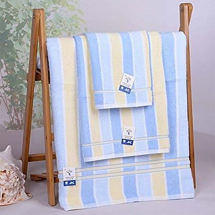 zhfc toalla toalla tres pieza Toalla Caja disfraz Pur algodón foco combina Don 140 x 72