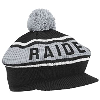 Mitchell & Ness Oakland Raiders Gorro de invierno: Amazon.es: Ropa ...