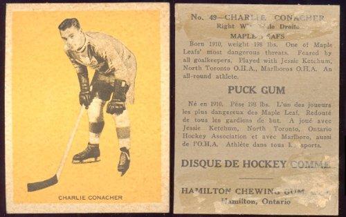 1933-V288-Hamilton-Gum-Regular-Hockey-Card-21-49-charlie-conacher-of-the-Toronto-Maple-Leafs-Good-Condition