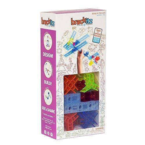 Brackitz Inventor: 28 Piece Set - Imagination Set and Building STEM Toy