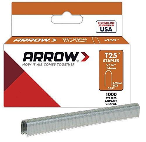 Arrow Fastener 259 Genuine T25/T2025 9/16-Inch