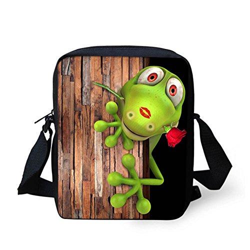 Crocodile3 Sac HUGS pour femme Flog2 Y petit bandoulière IDEA CA4575E Marron qCBtgr8nq