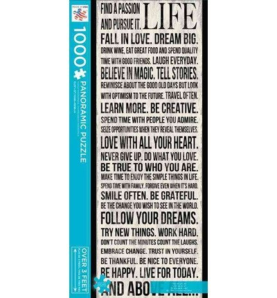 (The Art of Life: 1,000 PC Panoramic Puzzle (Other merchandise) - Common)