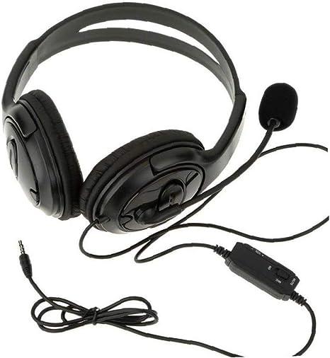 Wired Juego Estéreo De Auriculares Con Micrófono Para Playstation 4 Ps4: Amazon.es: Instrumentos musicales