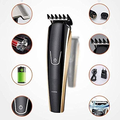 Electric Clippers Professional Hair Clippers Multifunctional 5 in 1 Rechargeable Beard Trimmer Cordless Hair Trimmer Haircut Kit with Limit Comb for Adult and Kids  zWMWo