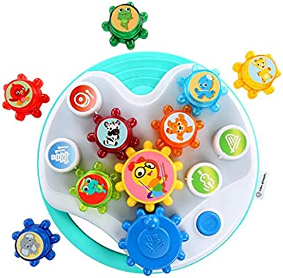 Baby Einstein, Symphony Gears Musical Gear Toddler Toy with Lights and Melodies, 12 months and up