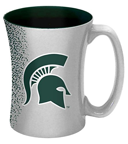 Michigan State Spartans Mug (NCAA Michigan State Spartans Mocha Mug, 14-ounce,)